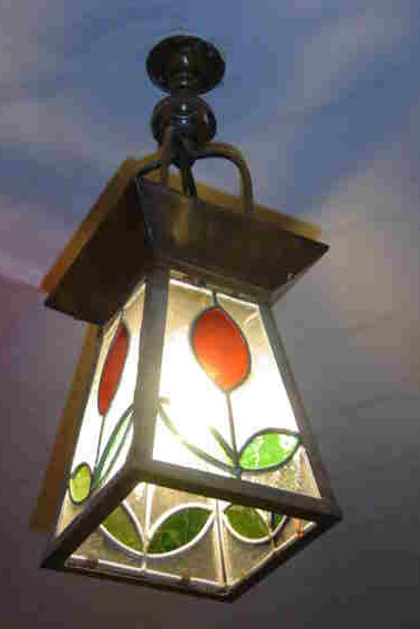 Antique Lighting at ARTISAN STAINED GLASS