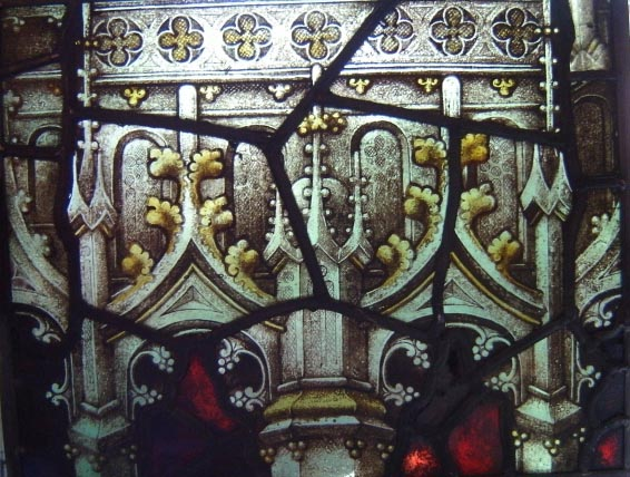 REFPG20 Antique Painted Glass