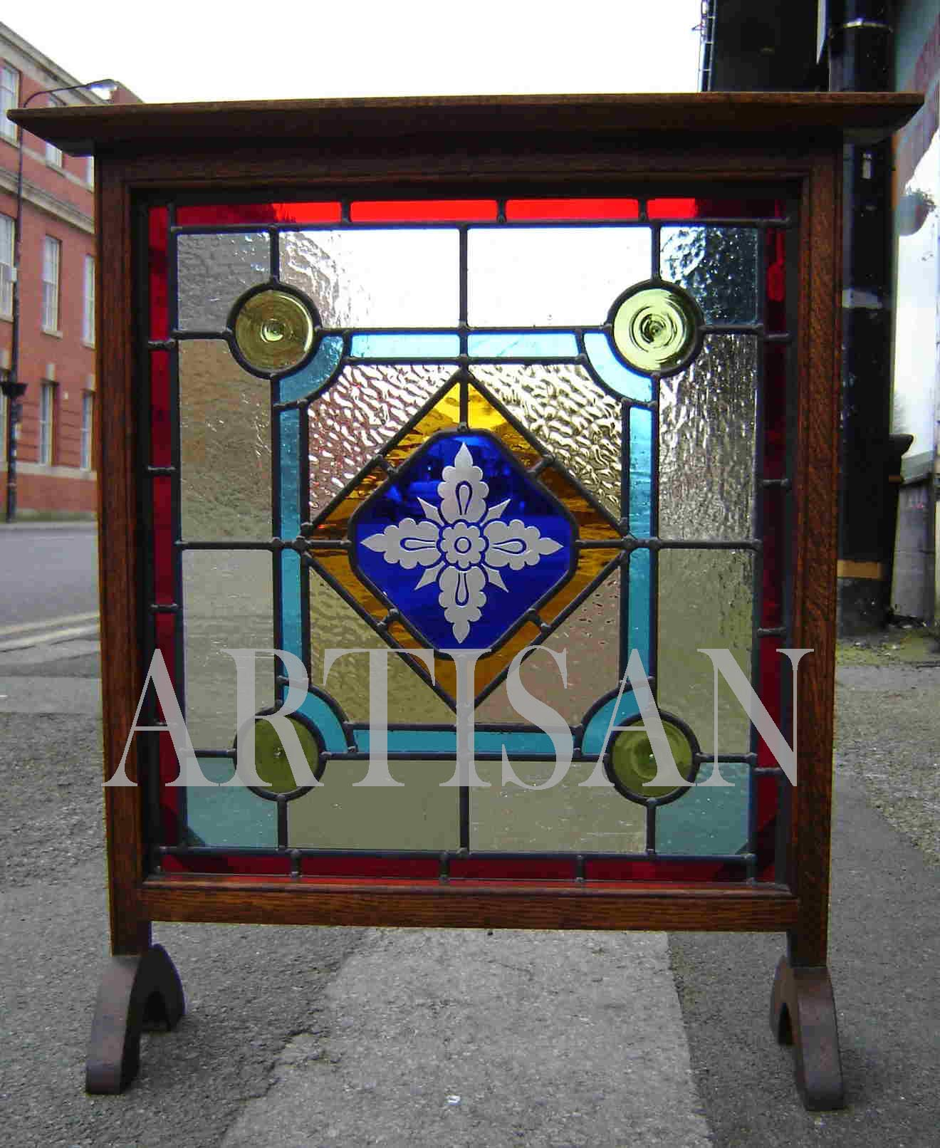 Artisan made window - now sold.